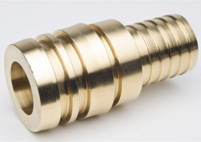 Machined Hose Barb Spigot - Avanti Engineering