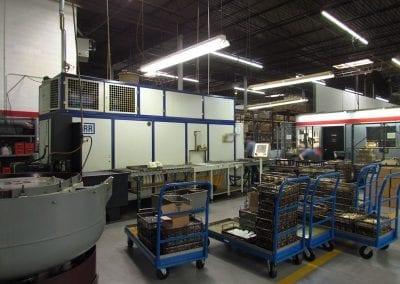 Parts Washing at Avanti Engineering