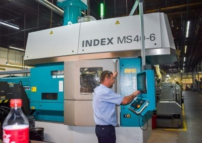 INDEX CNC Multiple Spindle Machining Operator