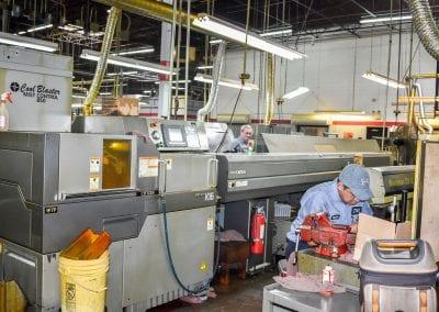 CNC Swiss K16 Bar loader Avanti Engineering