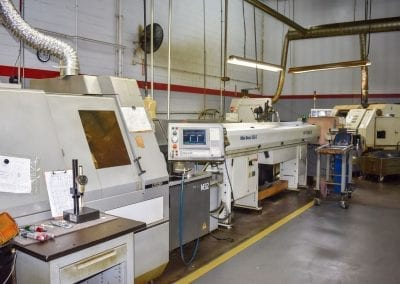 CNC Swiss M32 with magazine bar loader