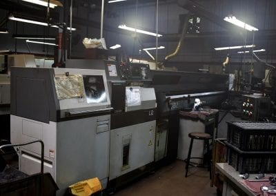 CNC Swiss screw machine Avanti Engineering