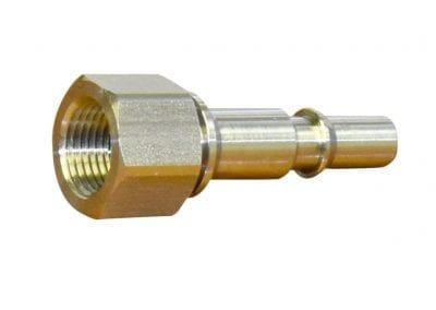 Push Button Plug NPT Female inlet - Avanti Engineering